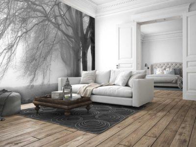 Wallpaper e interior design
