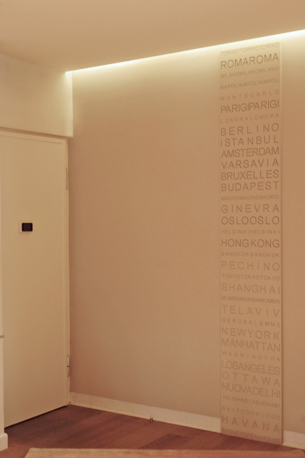 Progettazione serramenti, attico