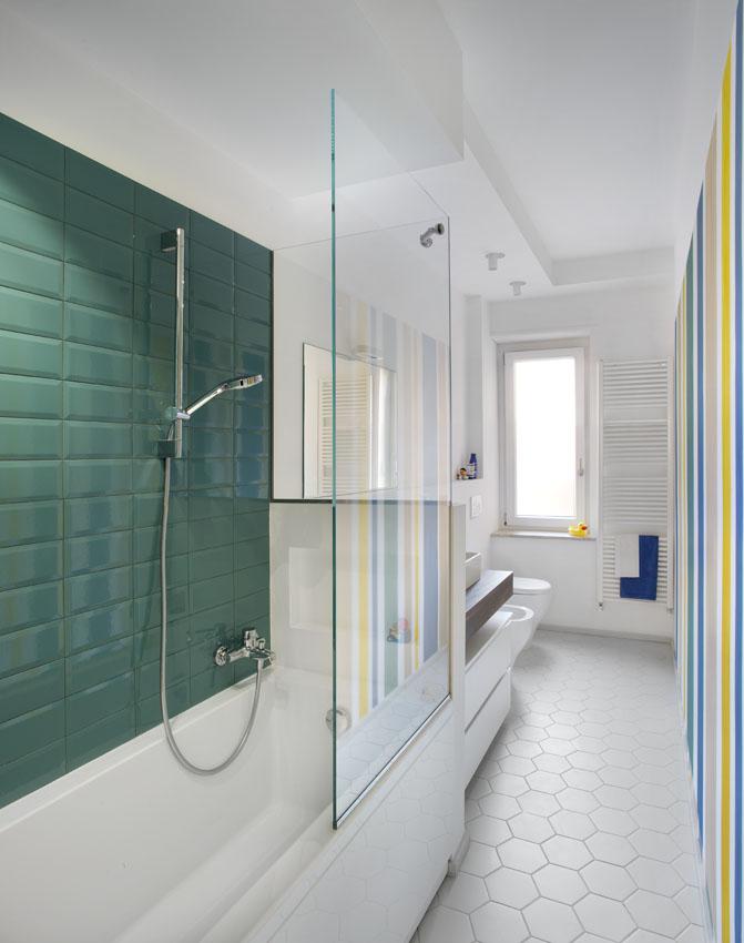 Tommasino's Home - bagno e colori
