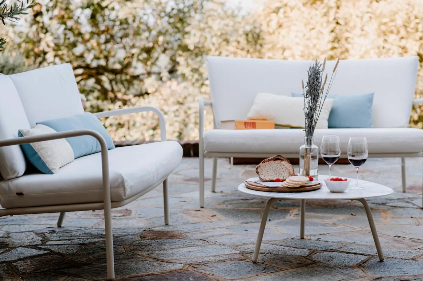 Villa Coste di Monforte - zona relax esterna